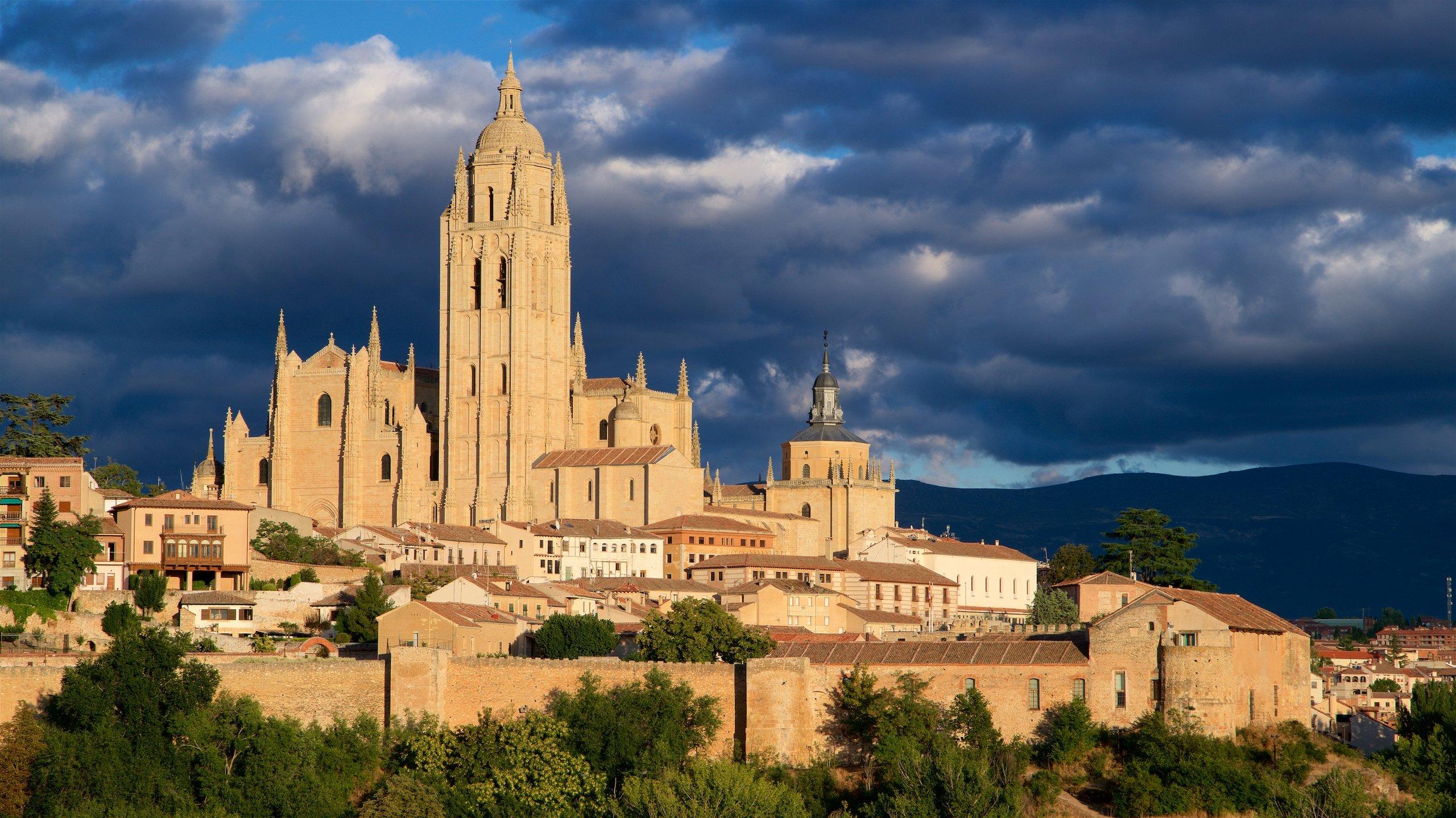 Segovia-kathedraal, Segovia, Castilië en León, Spanje