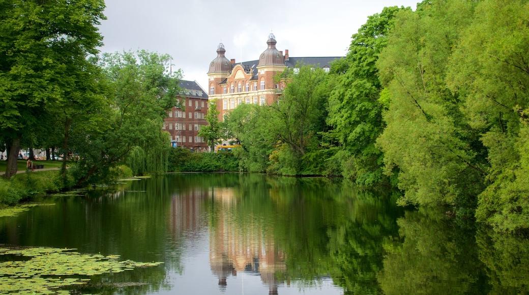 København og byder på en park og en flod eller et vandløb