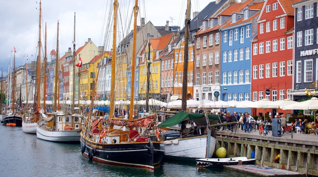Copenhagen featuring a bay or harbour