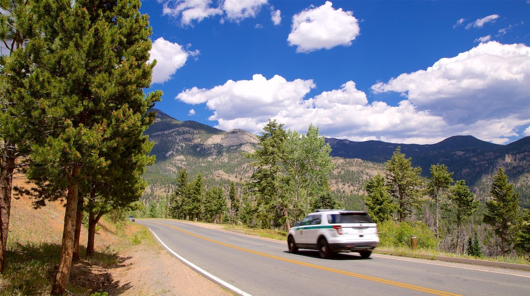 Rocky Mountain National Park featuring tranquil scenes
