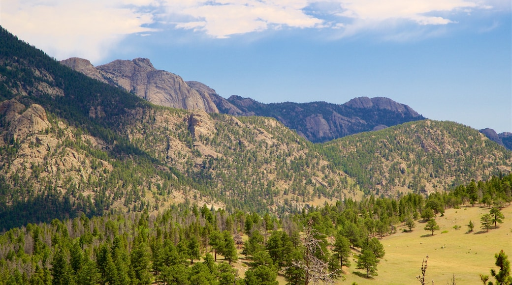 Rocky Mountain National Park featuring tranquil scenes, landscape views and mountains
