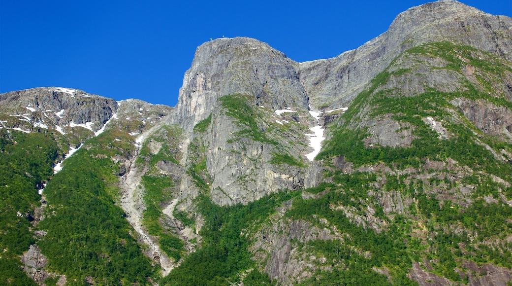 Eidfjord welches beinhaltet Berge
