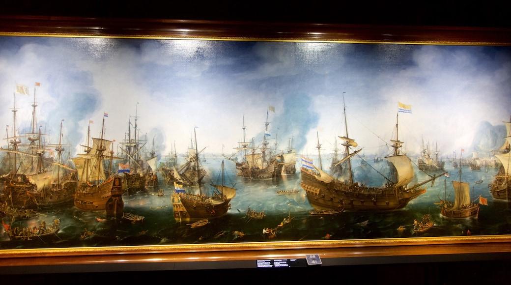 Scheepvaartmuseum inclusief interieur en kunst