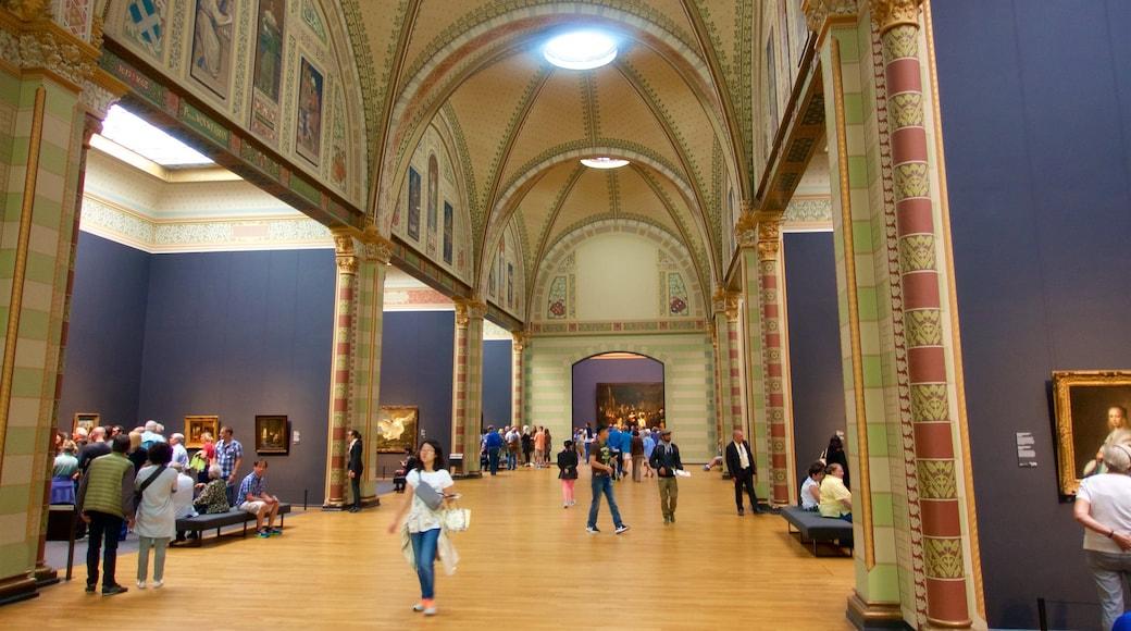 Rijksmuseum, Amsterdam, Nederland som inkluderer kunst, innendørs og kulturarv