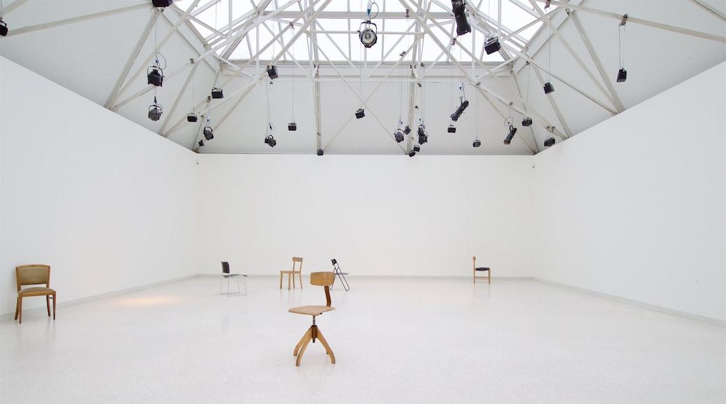 Kunsthalle Bremen mit einem Innenansichten