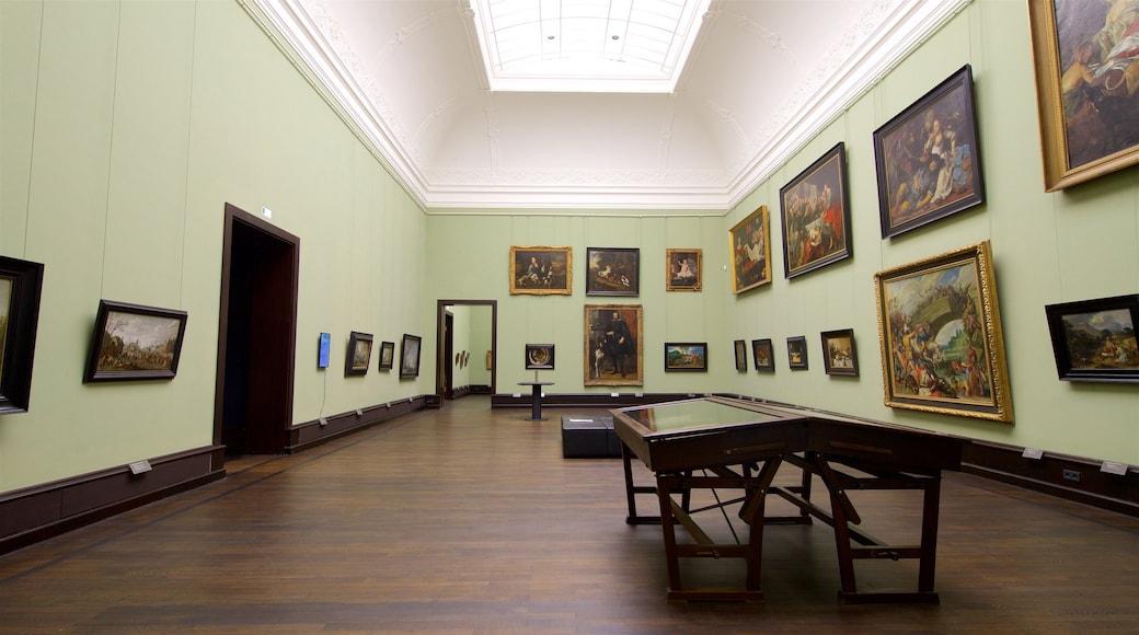 Kunsthalle Bremen caratteristiche di arte e vista interna