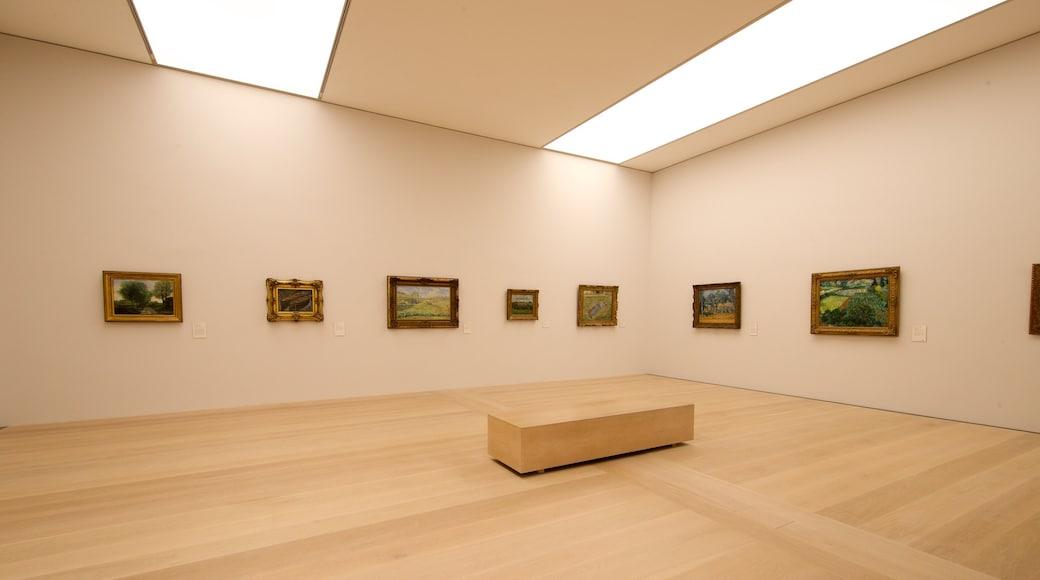 Kunsthalle Bremen che include vista interna e arte
