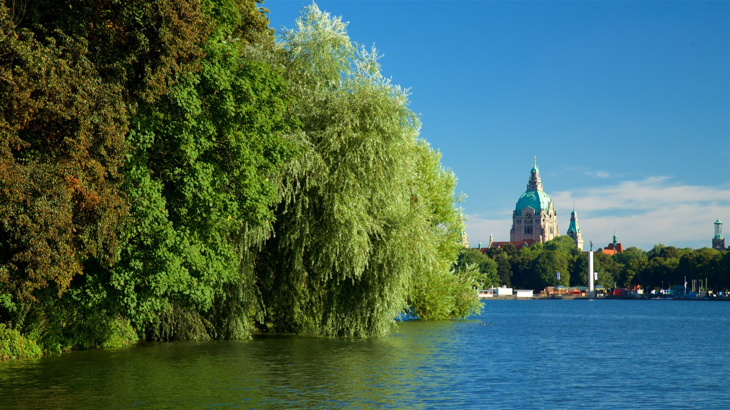 Maschsee, Hannover, Lower Saxony, Germany