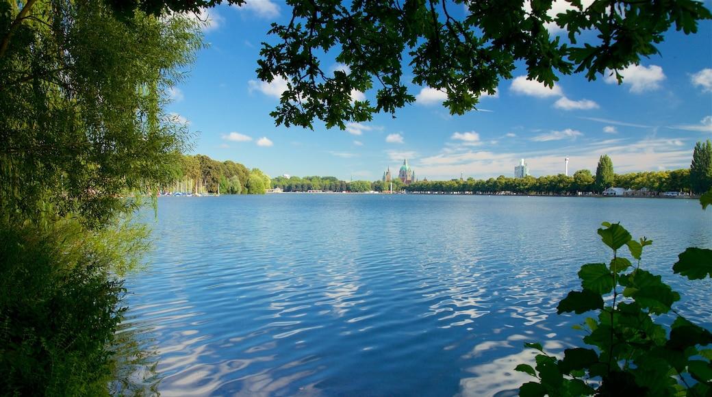 Maschsee welches beinhaltet See oder Wasserstelle