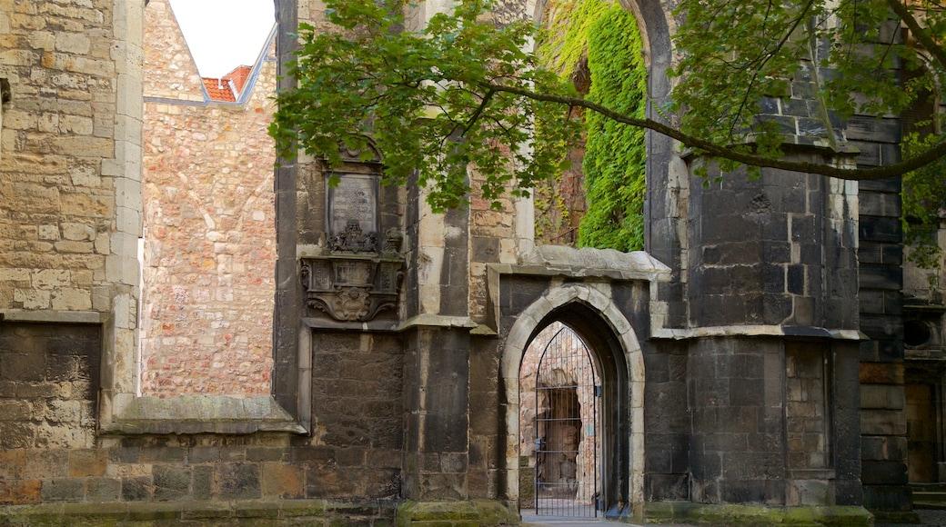Aegidienkirche mit einem Geschichtliches