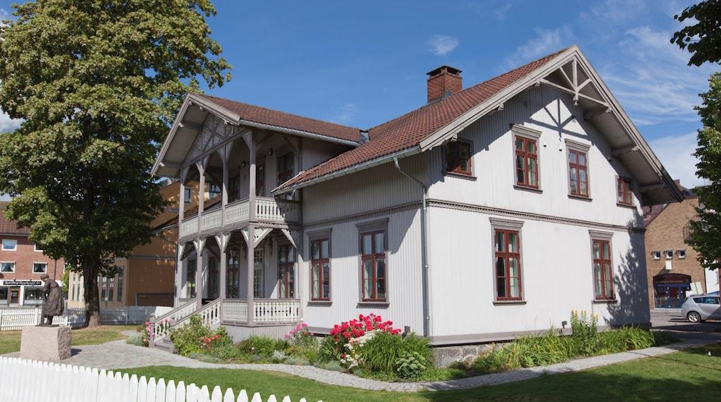 Lillestrøm som inkluderer hus