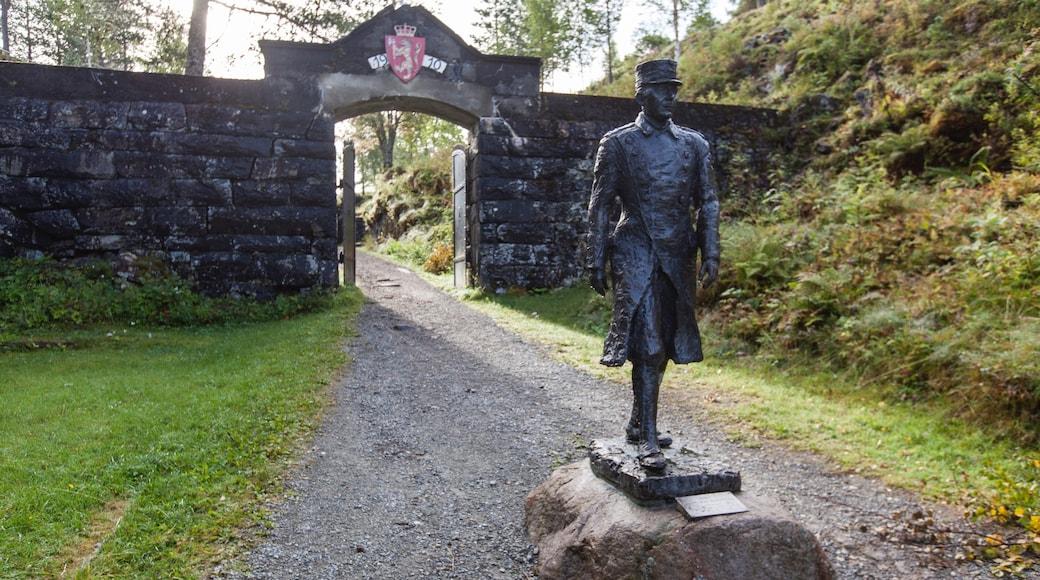 Stjørdal som inkluderer statue eller skulptur og kulturarv