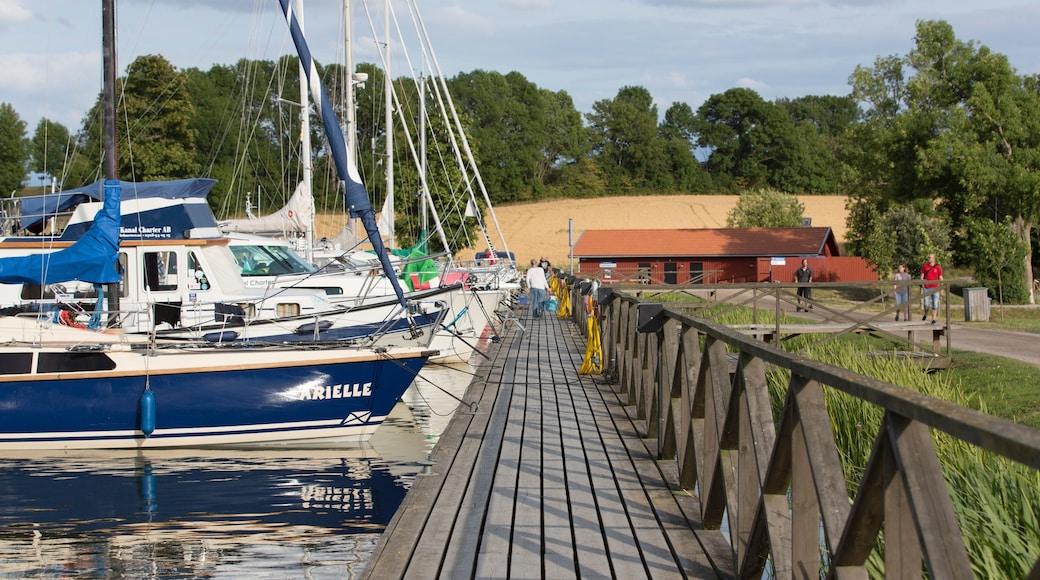 Linköping presenterar en hamn eller havsbukt