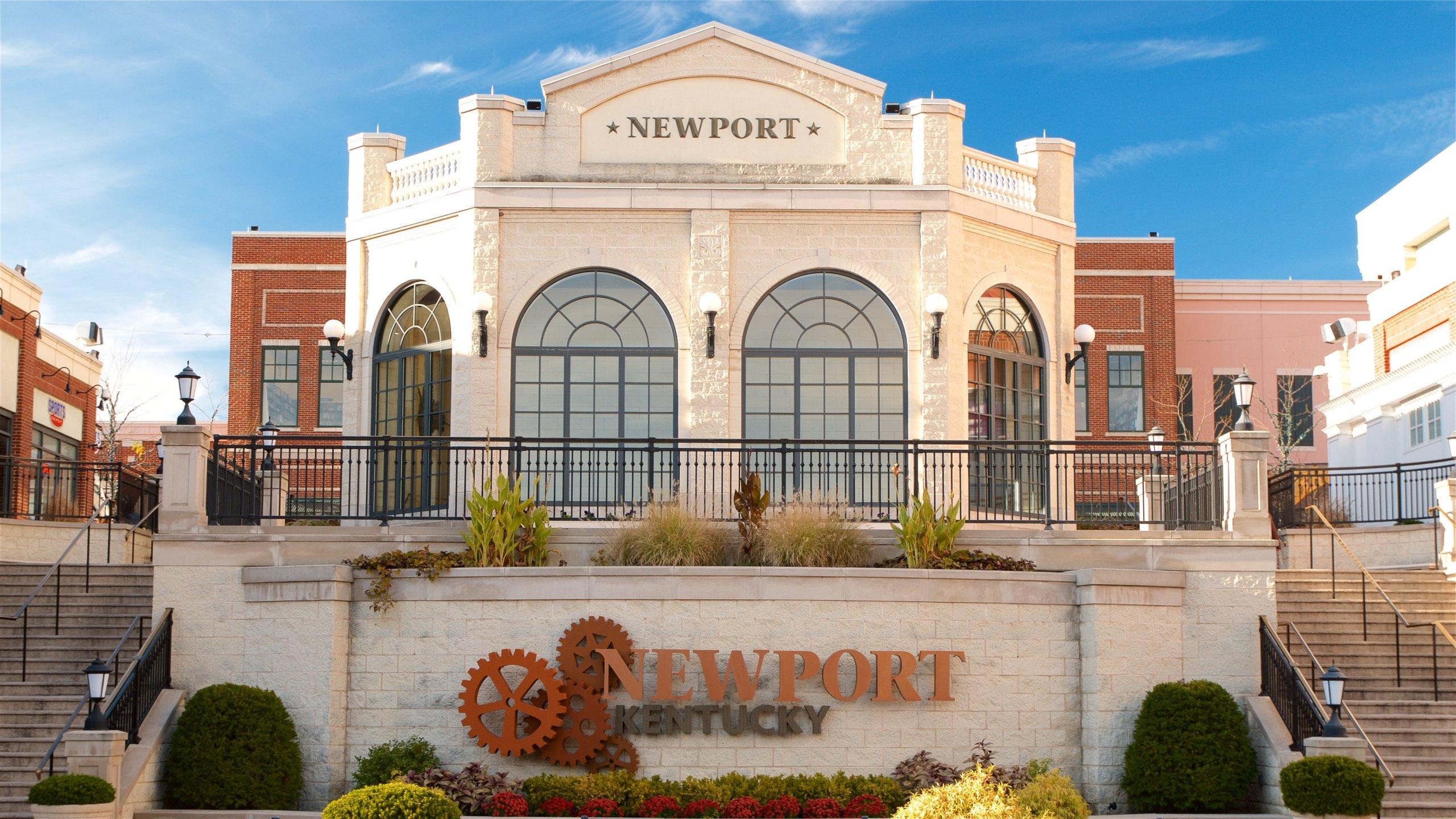 Newport joka esittää kyltit