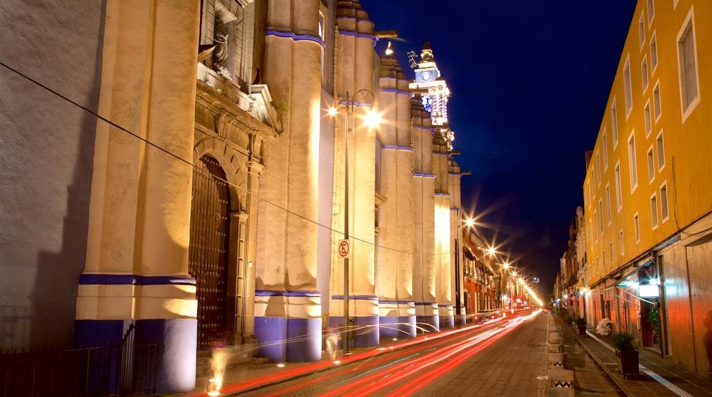 México mostrando escenas nocturnas