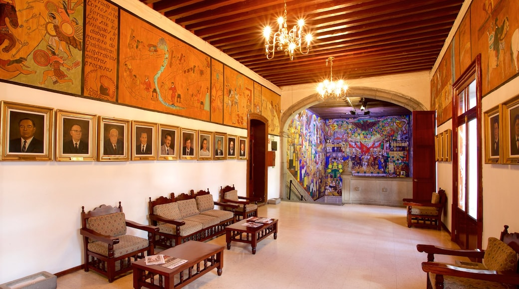 Government Palace featuring heritage elements, interior views and art