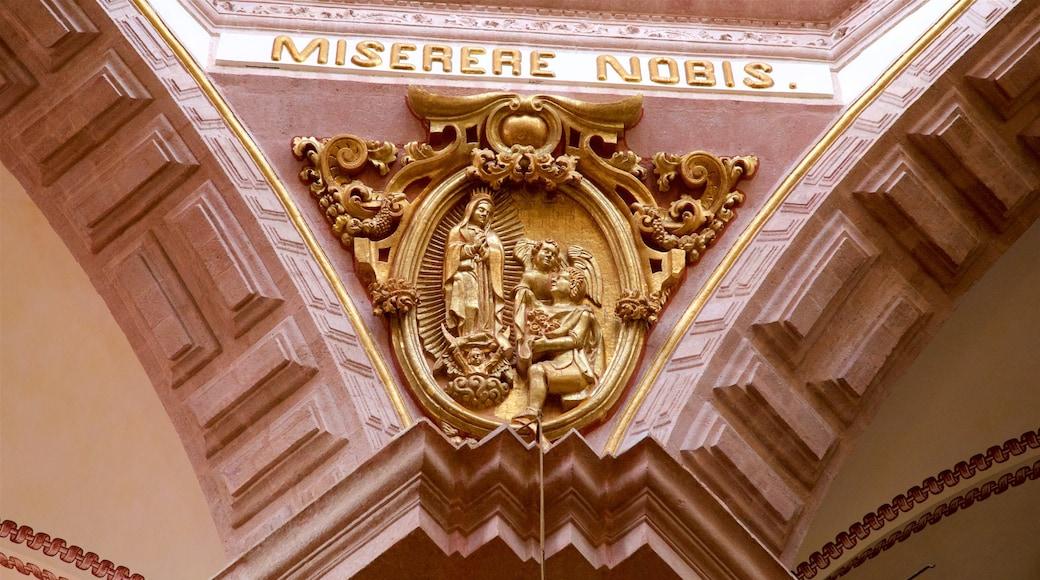Santa Prisca Kathedrale das einen Geschichtliches und religiöse Aspekte