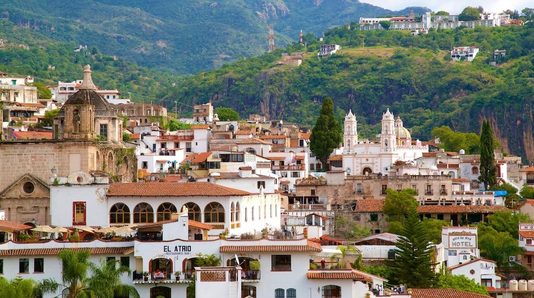 Taxco das einen Stadt