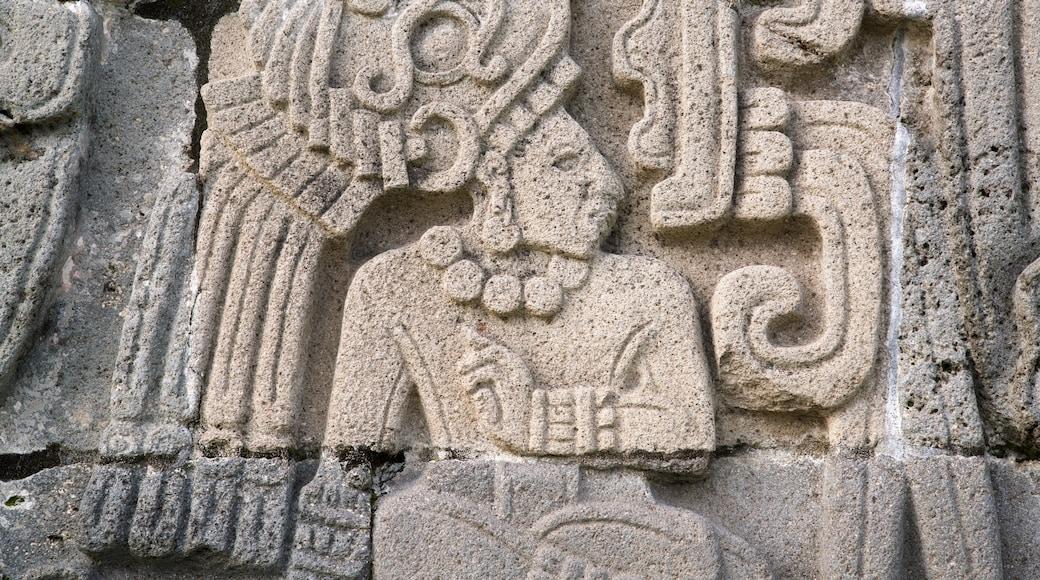 Archaeological Monuments Zone of Xochicalco mit einem Geschichtliches