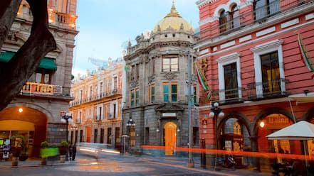 Zocalo Square featuring heritage elements