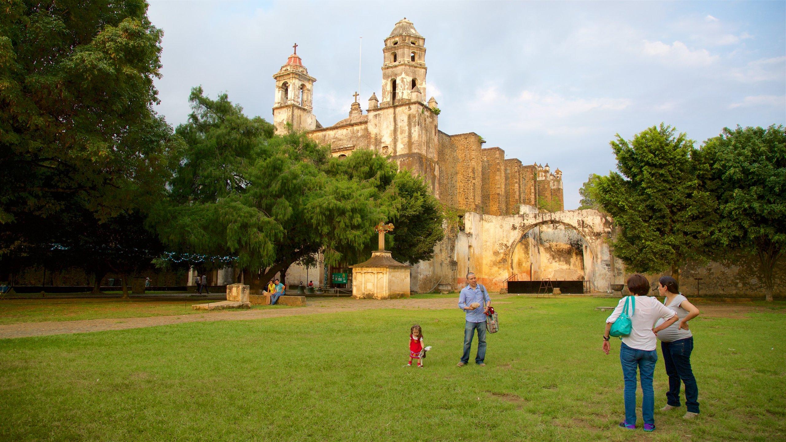Ex-Convento de la Natividad, Tepoztlan, Morelos, Mexico