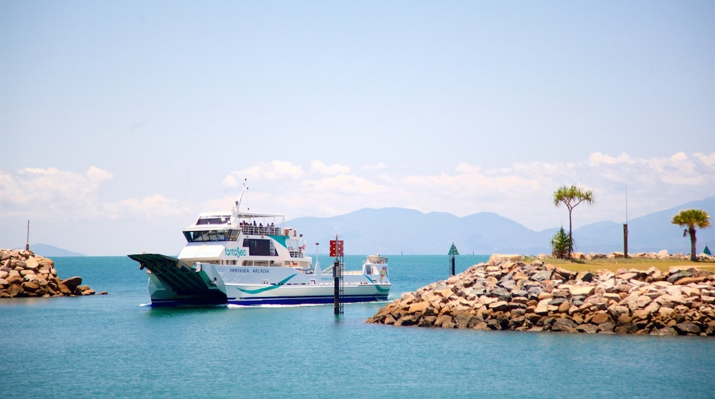 Magnetic Island Ferry Terminal featuring general coastal views, a bay or harbor and cruising