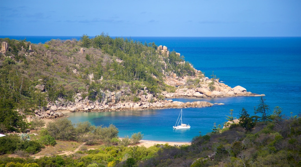 Magnetic Island National Park which includes rugged coastline and general coastal views