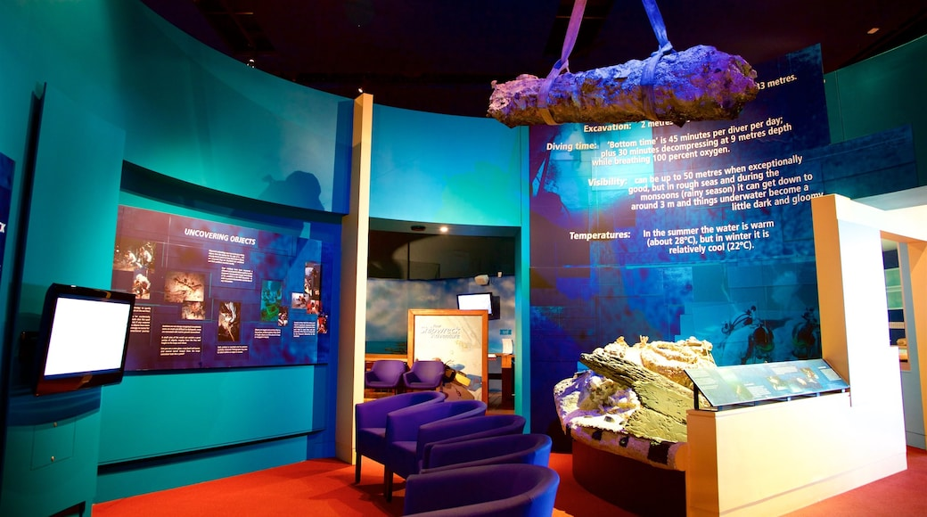 Museum of Tropical Queensland which includes interior views