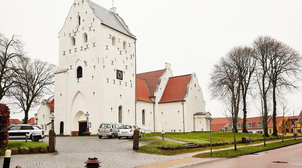 Hjørring som viser en kirke eller en katedral