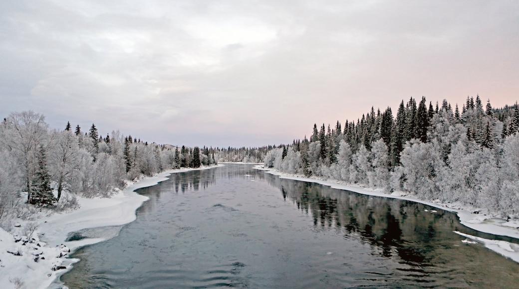 Are qui includes rivière ou ruisseau et neige