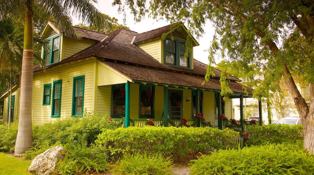 Riverwalk featuring a house