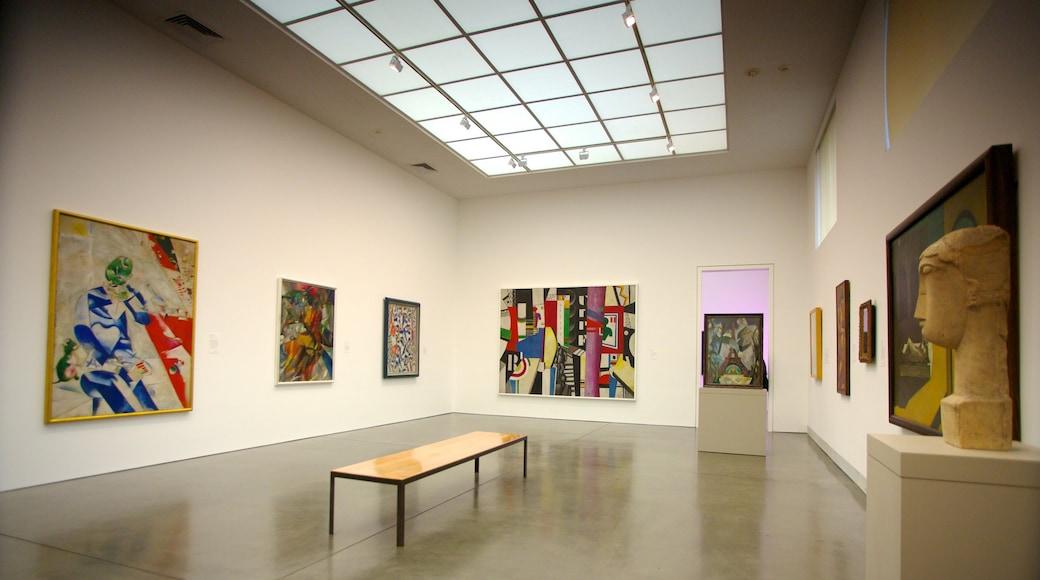 Philadelphia Museum of Art showing interior views and art