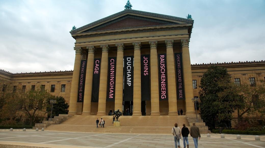 Philadelphia Museum of Art featuring art