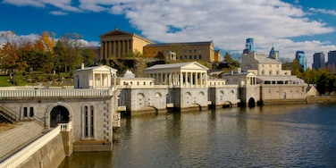 費爾蒙公園 呈现出 天際線, 歷史建築 和 湖泊或水池