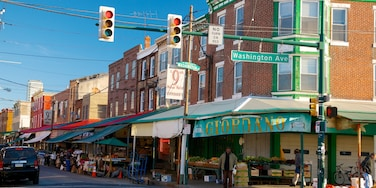 Bella Vista which includes street scenes and markets