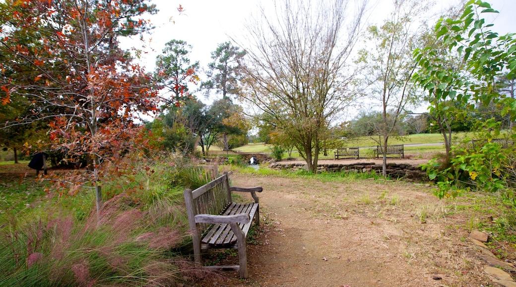 Memorial Park showing a garden, a memorial and landscape views