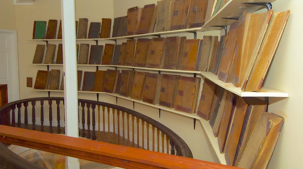Museu do Arroz mostrando vistas internas