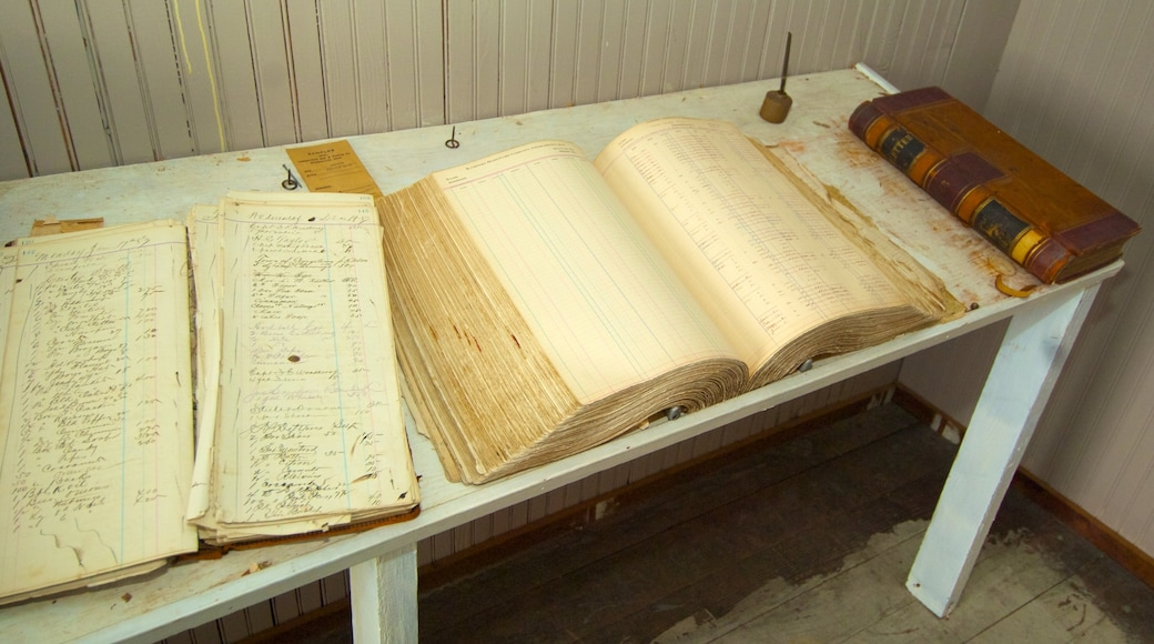 Museu do Arroz que inclui vistas internas