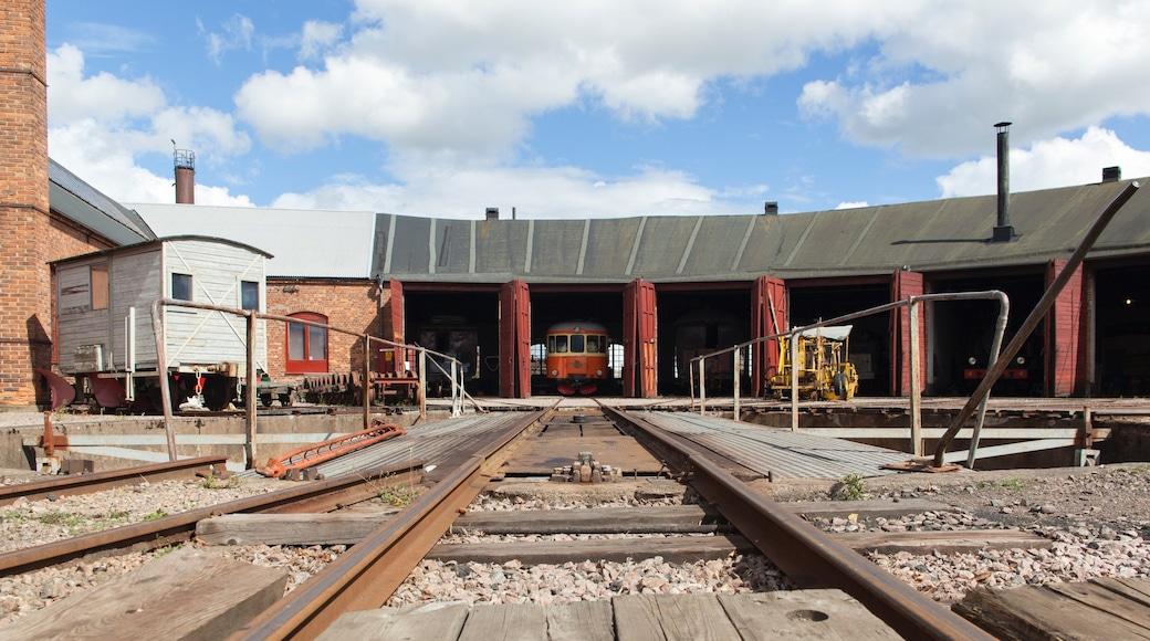 Skara som visar järnvägsobjekt