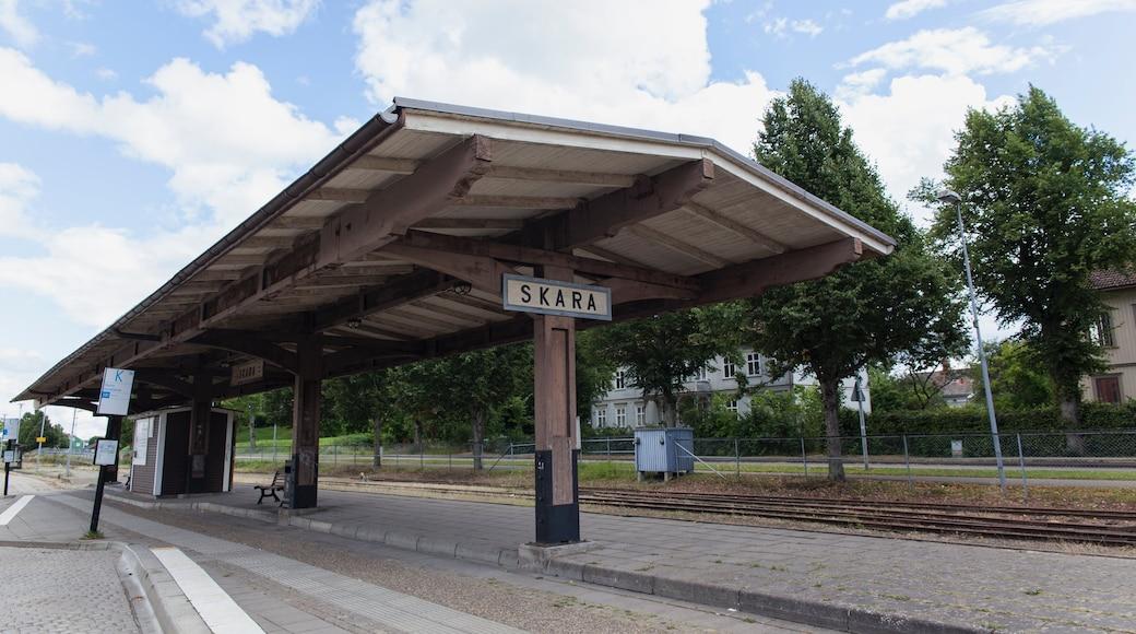 Skara presenterar järnvägsobjekt