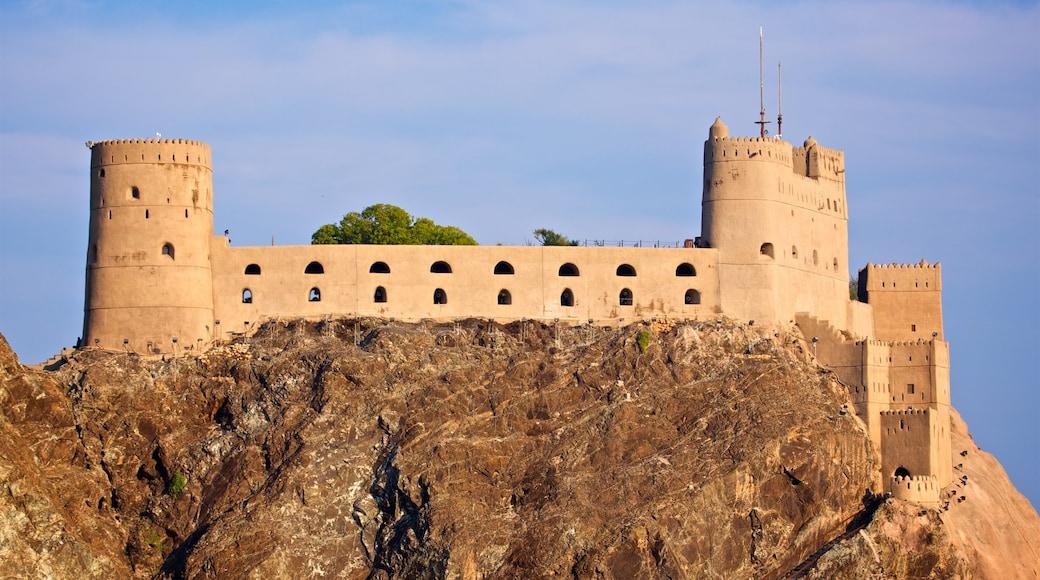 Festung Al-Dschalali welches beinhaltet Palast oder Schloss