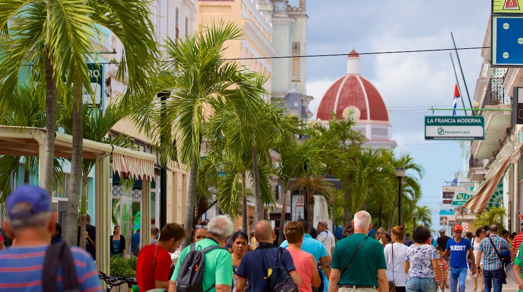 Cienfuegos as well as a large group of people