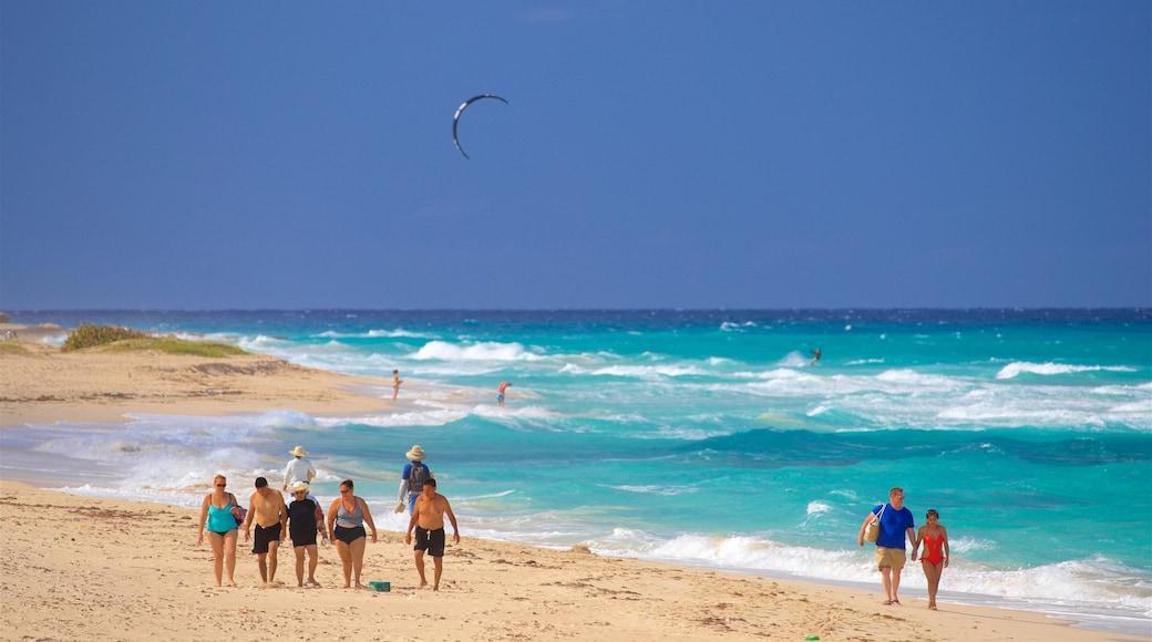 Playas del Este showing general coastal views, a sandy beach and surf