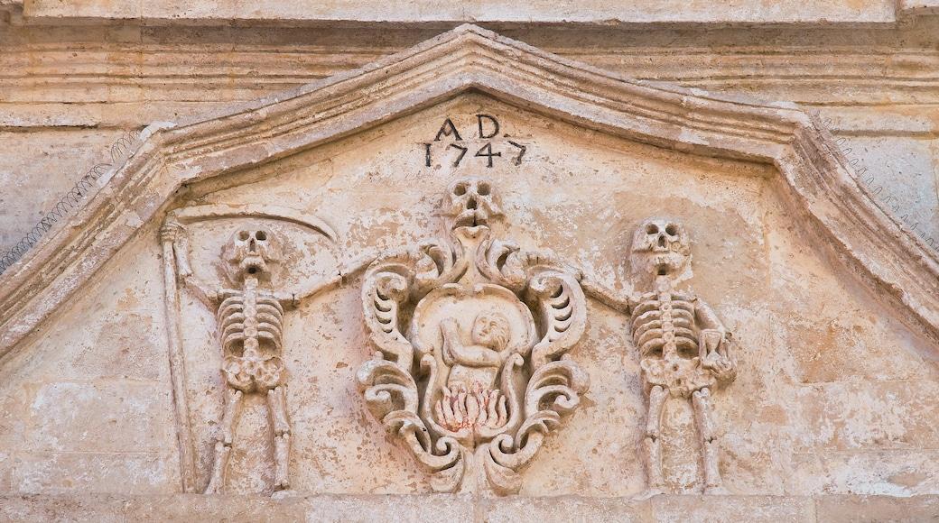 Basilicata che include cimitero