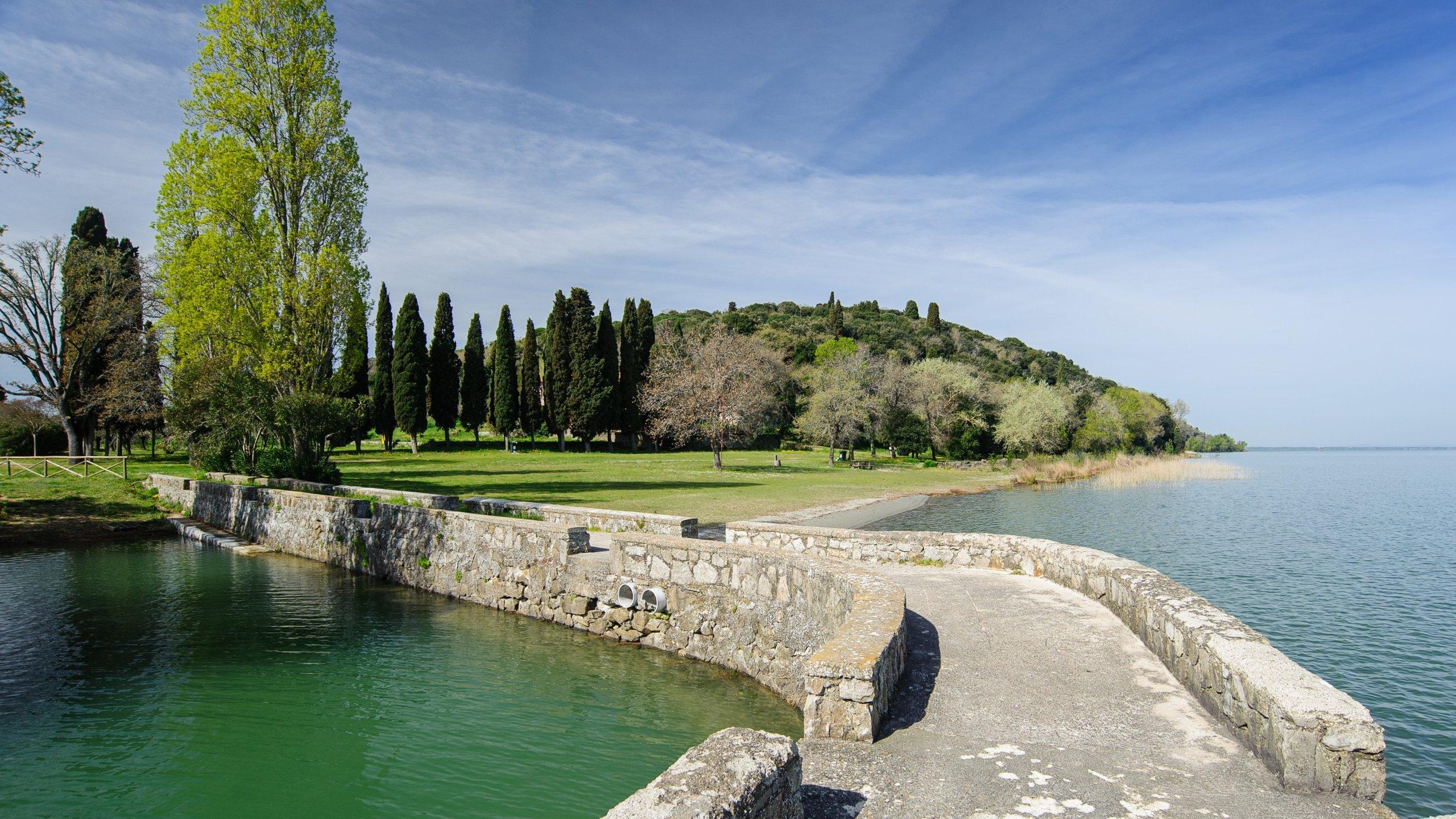 Trasimenischer See, Castiglione del Lago, Umbrien, Italien