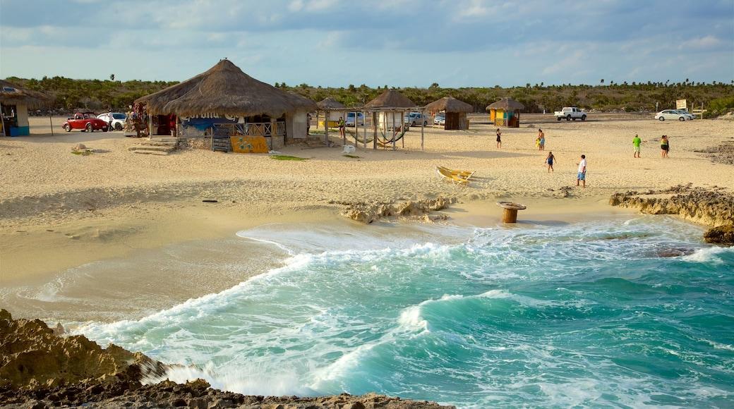 El Mirador which includes a beach, tropical scenes and general coastal views