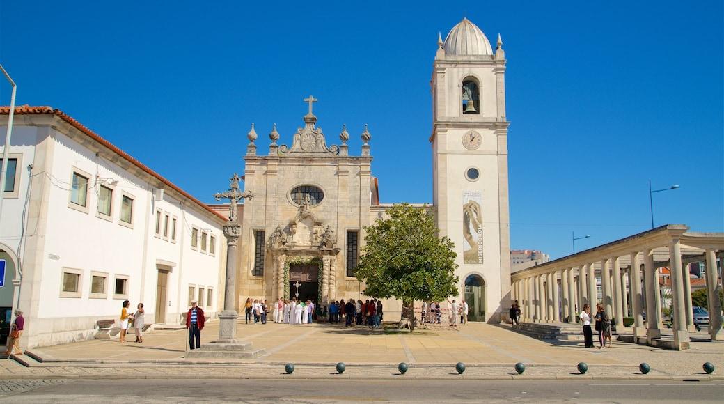Aveiro qui includes patrimoine architectural et église ou cathédrale