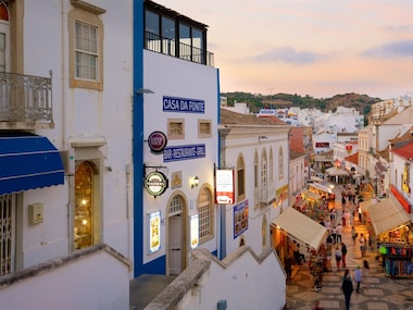 Albufeira Old Town Square
