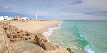 Faro Island Beach showing general coastal views and a sandy beach
