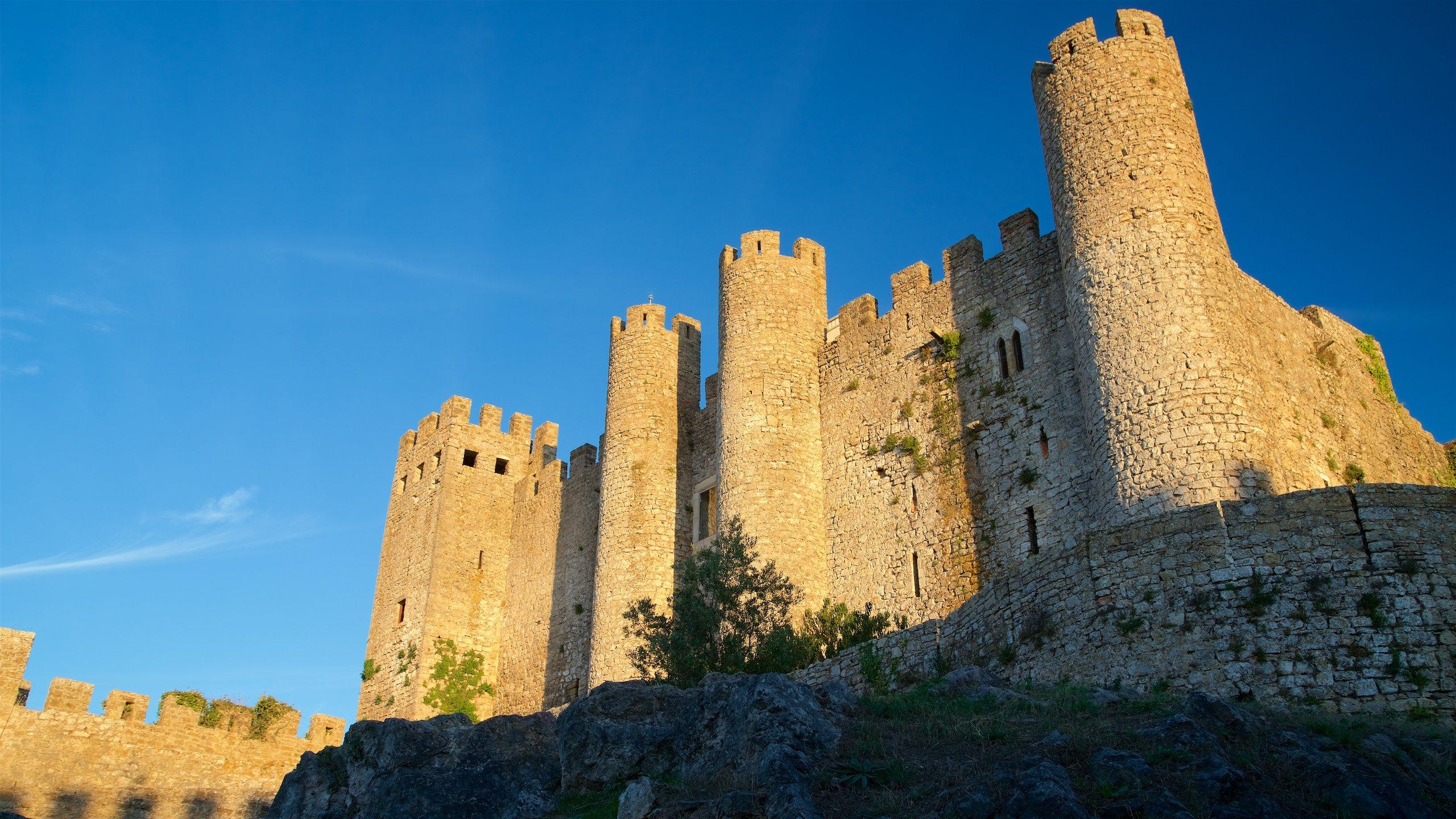 Obidos Castle, Obidos, Leiria District, Portugal